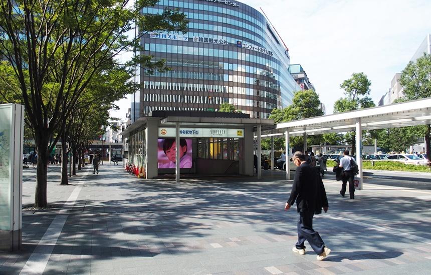 祇園駅通路2