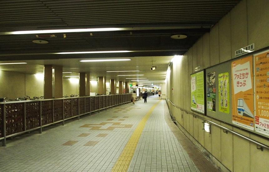 祇園駅通路6