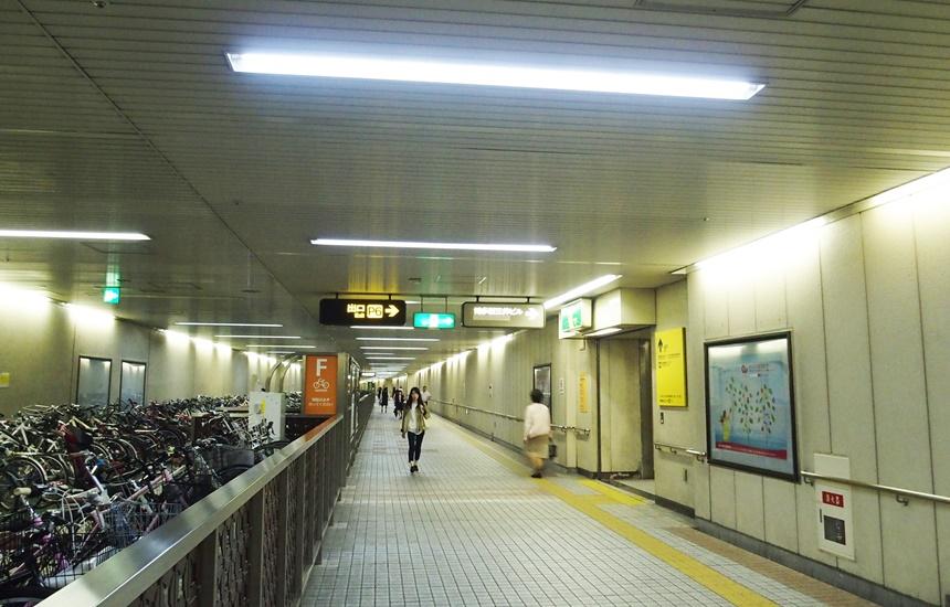 祇園駅通路22