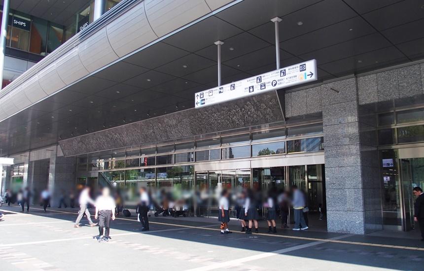 祇園駅通路1