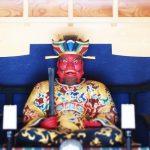「海元寺」博多旧市街石堂口、閻魔大王が鎮座する閻魔堂が有名なお寺。