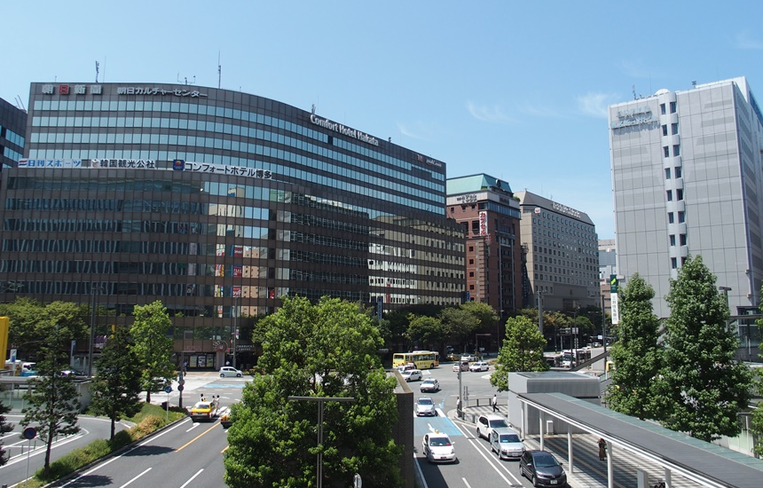 JR博多シティ3階デッキ5