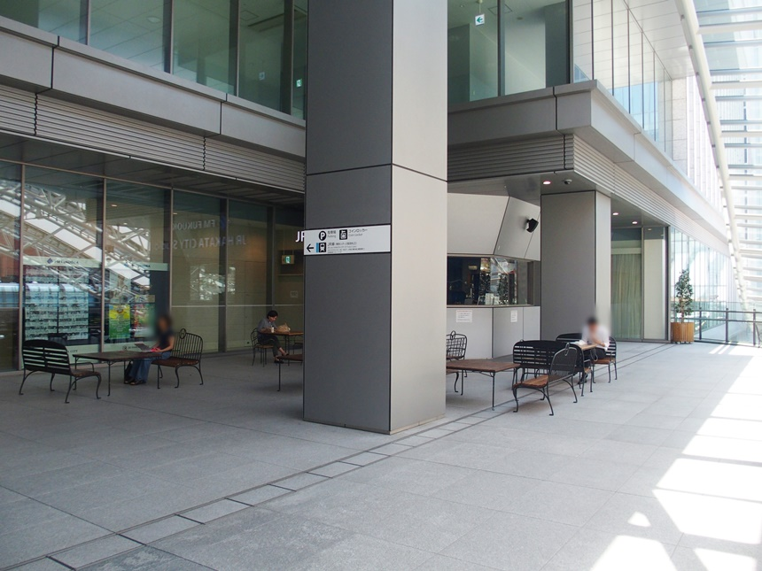 JR博多シティ3階デッキ8