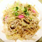 「博多皿うどん ぴかまつ一番」長崎とは違う皿うどん、ご当地B級グルメを博多駅で食べる