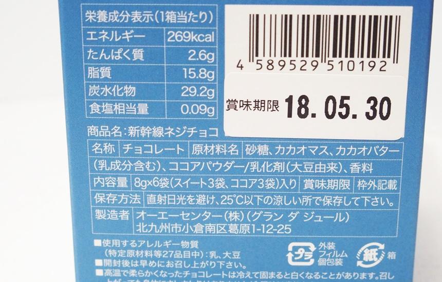新幹線ネジチョコ4