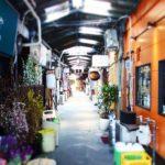 「三角市場」福岡のディープ観光スポット!昭和レトロな闇市の末裔